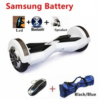 Samsung Battery 8 Inch BluetoothTwo Wheel Electric Scooter Skateboard Giroskuter Smart HoverBoard Self Balancing Scooter