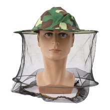 Outdoor Anti Mosquito Bug Bee Insect Mesh Hat Hunting Hat Practical Travel Camping Protector For Head Face Protect Survival Tool black mosquito bug insect bee mesh head net protect hat fishing camping hunting
