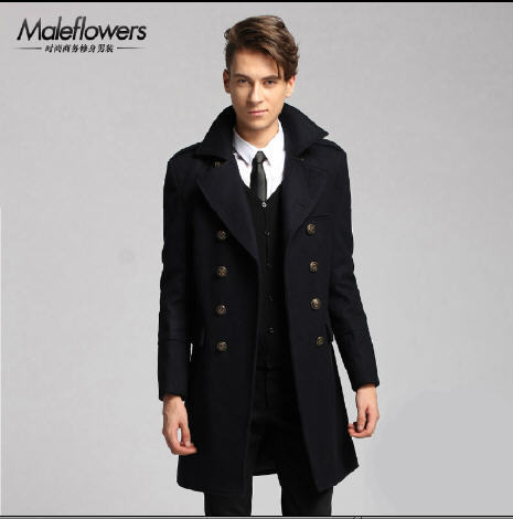 Aliexpress.com : Buy Winter New 2016 Double Breasted Wool Trench ...