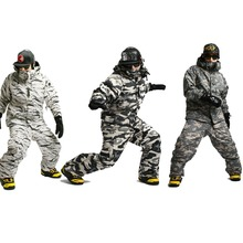 "New Premium Edition ""Southplay"" Winter Waterproof 10,000mm Warming Camo Suit (Jacket + Pants) Sets"