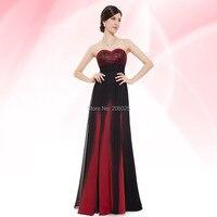 Free Shipping 08070 Mystical Blue Elegant Strapless Long Evening Dress