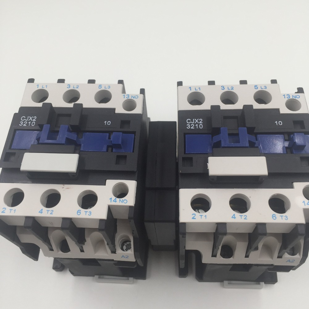 Shanghai two open  mechanical interlocking AC contactor CJX2-3210N cjx2 115n mechanical interlocking contactor 115a