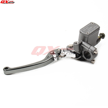 High Quality CNC Left Brake Pump brake master cylinder pump For Dirt Pit Bike ATV Quad scooter Off Road Motorcycle Free shipping cnc aluminum hydraulic clutch master cylinder pump rod fit to motorcycle dirt pit bike monkey bike parts free shipping
