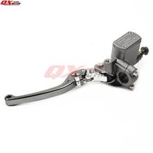 цена на High Quality CNC Left Brake Pump brake master cylinder pump For Dirt Pit Bike ATV Quad scooter Off Road Motorcycle Free shipping