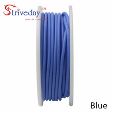 5 meters/roll 18AWG high temperature resistance Flexible silicone wire tinned copper wire RC power cord Electronic cable DIY heating wire high temperature nickel chromium resistance wire hot plates parts 1000w high quality