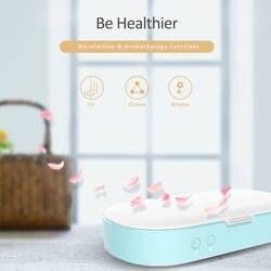 Стерилизатор телефон часы Чистый Стерилизатор для мобильного телефона с функцией аромата УФ озона Детская безопасность для детей семья