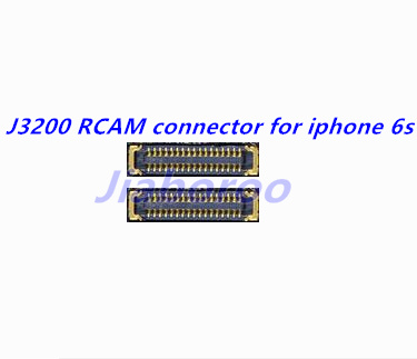 50pcs/lot J3200 Back Rear camera flex RCAM FPC connector for iphone 6s 4. 7 on motherboard image