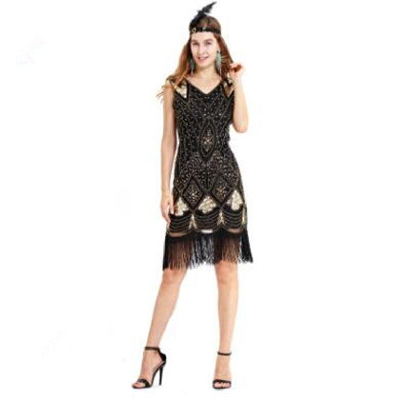 Direct deal fringe skirt beaded sequin skirt