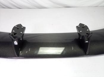 Автомобильный Стайлинг из углеродного волокна Nismo Стиль Задний спойлер с тормозным светом глянцевое волокно отделка багажника крыло CBA DBA К...