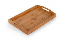 1PC Bamboo Pallet Kungfu Tea Tray Saucer Fruit Plate Kitchen Organizer Cutlery Storage Table  Admission tray bandeja JL 0913