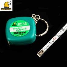 6bc3f3969 Mini Chaveiro Fita Métrica Retrátil 1 M Flexível de Medição da Régua De Aço  Métrica e Polegada Casa DIY Ferramentas
