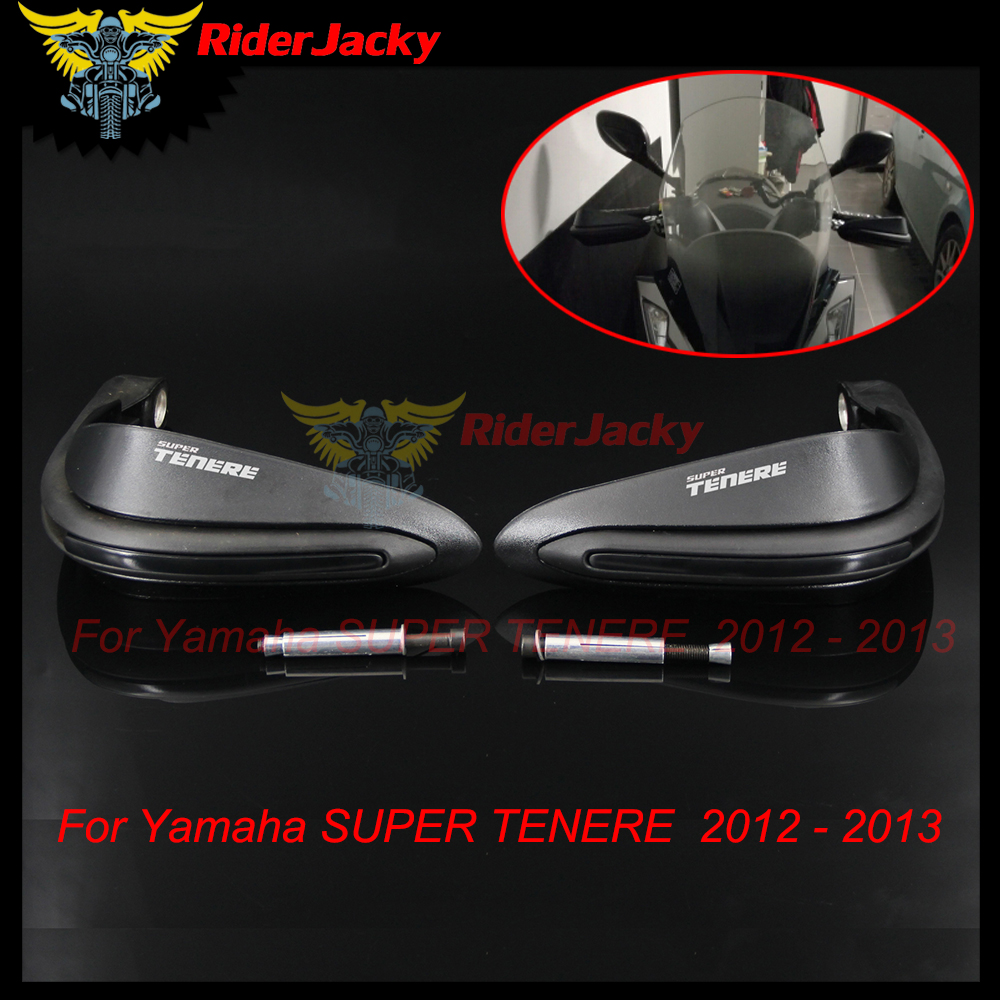 RiderJacky Motorcycle Hand Guards Motocross Dirtbike Handguards For Yamaha SUPER TENERE 2012-2013 цены