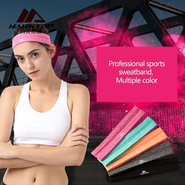 Martop Sport Sweatband tennis fitness Hairbands Yoga Football running Headband Elastic Stretch badminton Head Band for men women