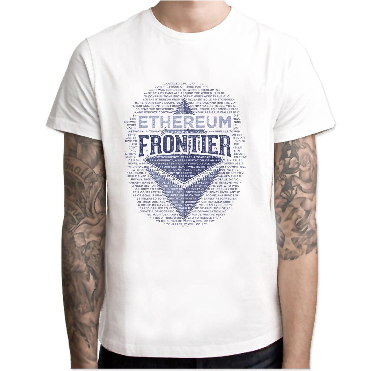 Ethereum Samsung Skin T shirt Hip Hop Style New Original Design T-shirt Cool Fashion Men tshirt Color M7R1133