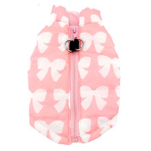 Pet Small Dog Clothes for Girls Boys Winter Velvet Bear Hoodie Shirt Jacket XS-L