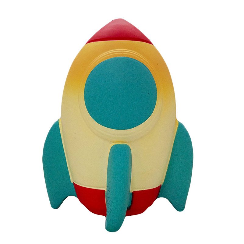 Cute Spun Slow Rising Scented Squeeze Stress Relief Rocket Toy  Jumbo Squishies Quash Antistress Games Anti-stress F1