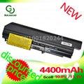 Golooloo 6 celdas 4400 mah batería del ordenador portátil para ibm lenovo thinkpad t61 t61p r61 r61i t61u r400 t400