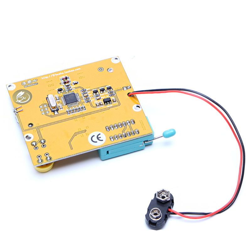 LCR-T4 ESR Meter Transistor Tester Diode Triode Capacitance SCR Inductance #0406