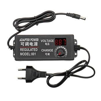 Einstellbare Power Adapter EU Stecker 9-24V AC/DC Adapter Schalt Power Versorgung Geregelt Power Adapter Versorgung display