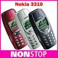 3310 Оригинальный Разблокирована Nokia 3310 Мобильный телефон Восстановленное Сотовый Телефон На Складе