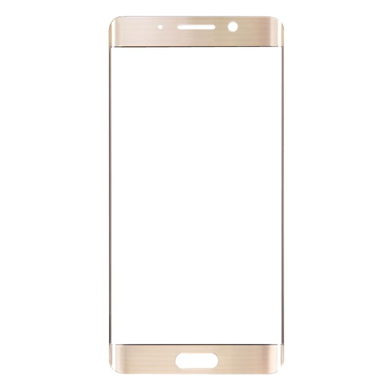 LOVAIN 10PCS Black White Gold Genuine Original For Huawei Mate9 Mate 9 Pro Front Glass Lens