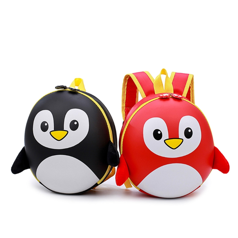 THINKTHENDO Baby Kids Boy Girl Penguin Casual Backpack Cartoon Small Shoulder School Bag New