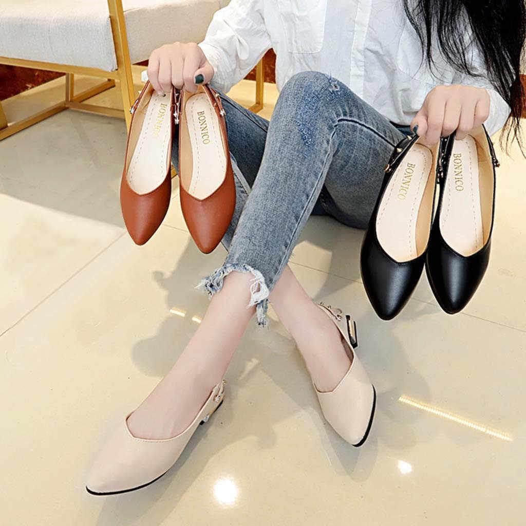 รองเท้าผู้หญิงรองเท้าแตะรองเท้าส้นสูงรองเท้าแตะรองเท้าสบายๆฤดูร้อนรองเท้าแตะผู้หญิง 2019 ฤดูร้อนรองเท้าหนังแท้รองเท้าแพลตฟอร์ม