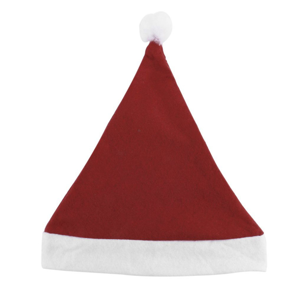 NEW Year Adult And Child Hat Caps Santa Claus Father Xmas Cotton Cap Christmas Decoration Gift Brand outdoor and indoor giant inflatable advertising shape santa claus christmas gift decoration for sale