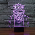 Creative Star Wars 7 color changing USB 3D touch Bulbing LED Night Light Lamp Star War Jedi Knight LED Desk Decor light IY803375