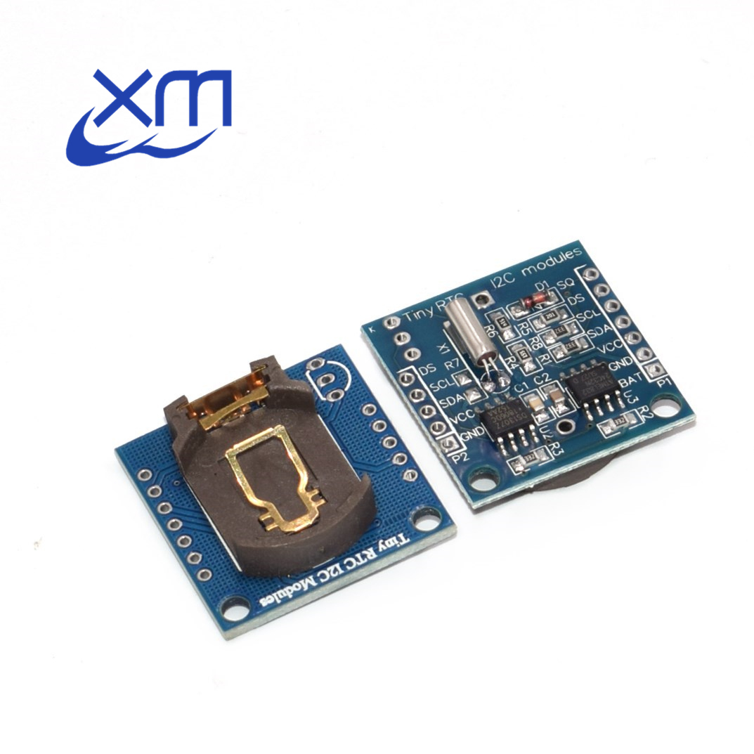New I2C RTC DS1307 AT24C32 Real Time Clock Module For AVR ARM PIC Wholesale 5pcs/lot C54