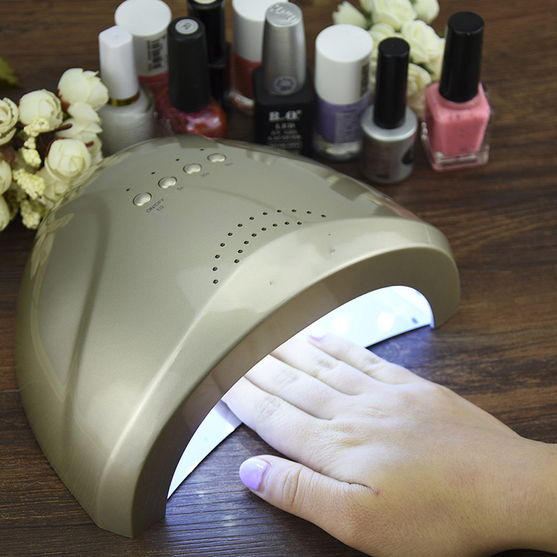 48 W professionnel ongles Lampe LED manucure UV Lampe ongles sèche pour UV Gel LED Gel ongles Machine infrarouge capteur ongles machine