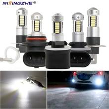 1 adet yüksek güçlü araba H3 LED H1 LED H27 880 881 9005 9006 hb3 hb4 30smd otomatik sis lambası drl 4014 araba sis lambası 12V