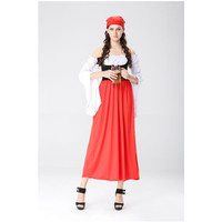Hot Sexy red Beer Costume Girl Wench Maiden Costume cosplay German Oktoberfest Costume Fancy Dress
