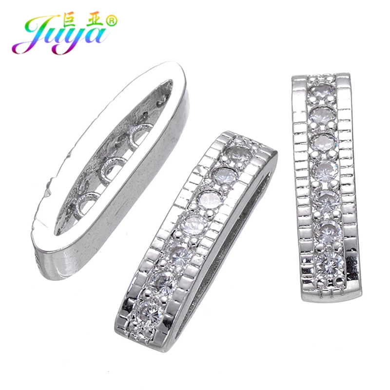 Beading Jewelry Components 3 Holes Decoration Separator Spacers Accessories For Women Natural Stones Pearls Jewelry DIY Making