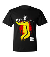 Kill Bill Vol 1 Movie Sword Surrounded Licensed Adult T Shirt S To 4Xl