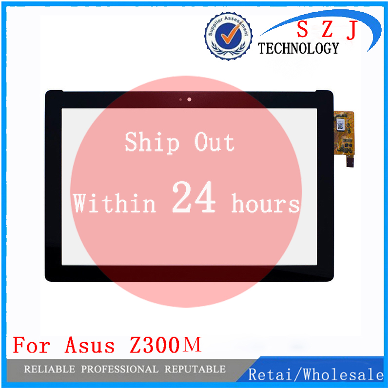 New 10.1'' inch tablet For Asus zenpad 10 Z300 <font><b>Z300M</b></font> P00C Digitizer Touch Screen Panel Repartment Yellow ribbon cable image