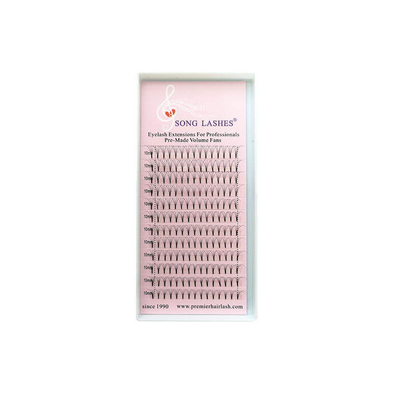 SONG LASHES High Quality 0.07 0.10mm thickness Pre-fanned Lashes 3D 4D Short root Volume Lashes Eyelash Extension song lashes 0 07 0 10mm thickness high quality pre fanned 2d 3d 4d 5d 6d volume lashes eyelash extension two trays per pack