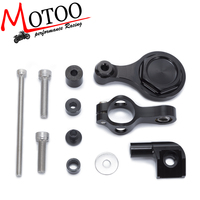 For YAMAHA YZF R1 R6 2006 2016 Motorcycles Adjustable Steering Stabilize Damper Bracket Mount Support Kit Accessories