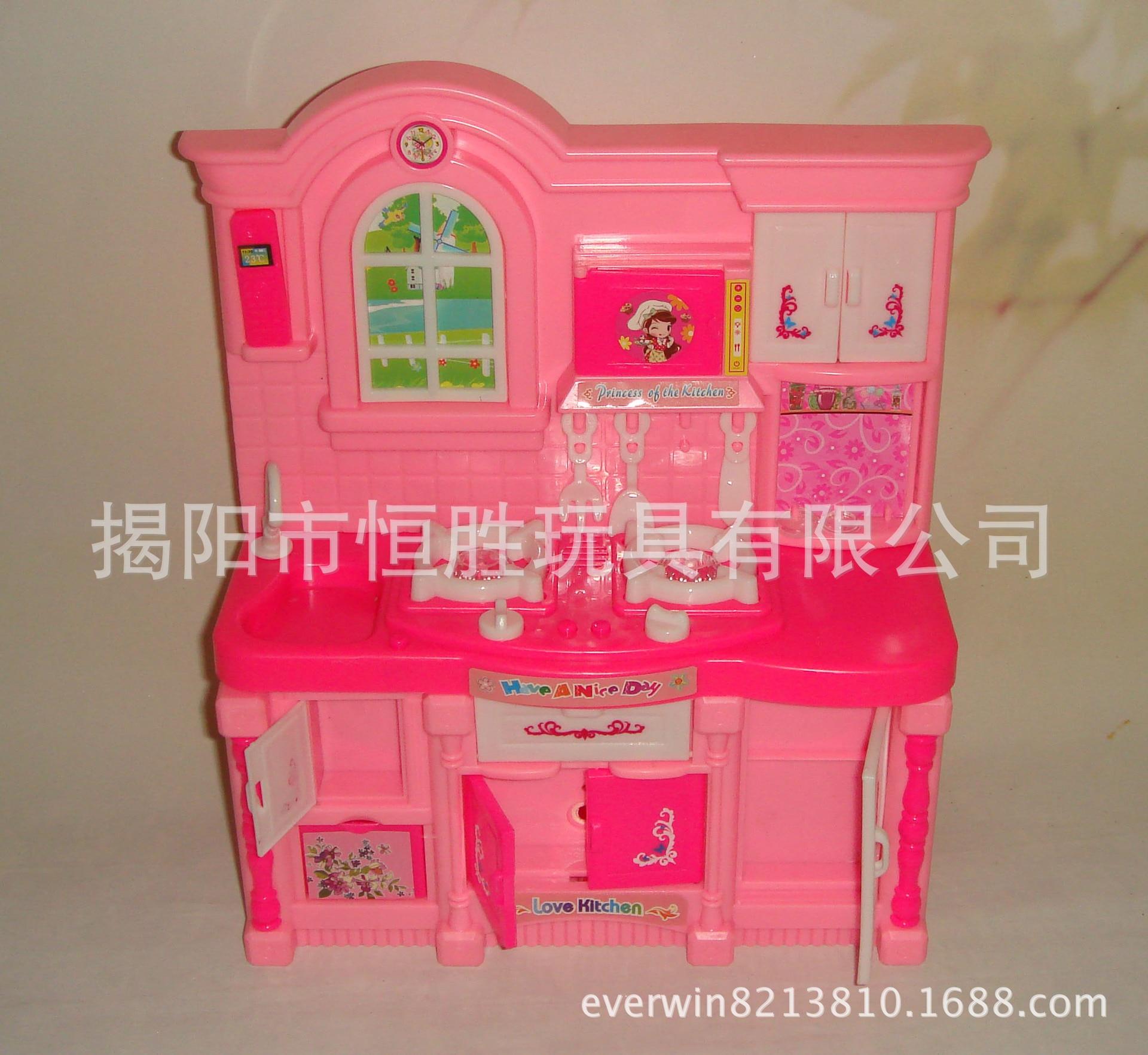 bambini play house toys simulazione set di mobili da cucina per barbie accessori ragazza cook cooking