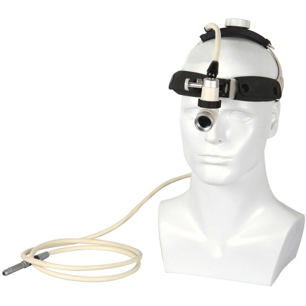 New 2M Fiber Optical Surgical Medical Headlight Head Light Lamp KD-202A