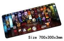 dota mouse pad 700x300x3mm pad to mouse notbook computer mousepad Mass pattern gaming padmouse gamer to laptop mouse mat
