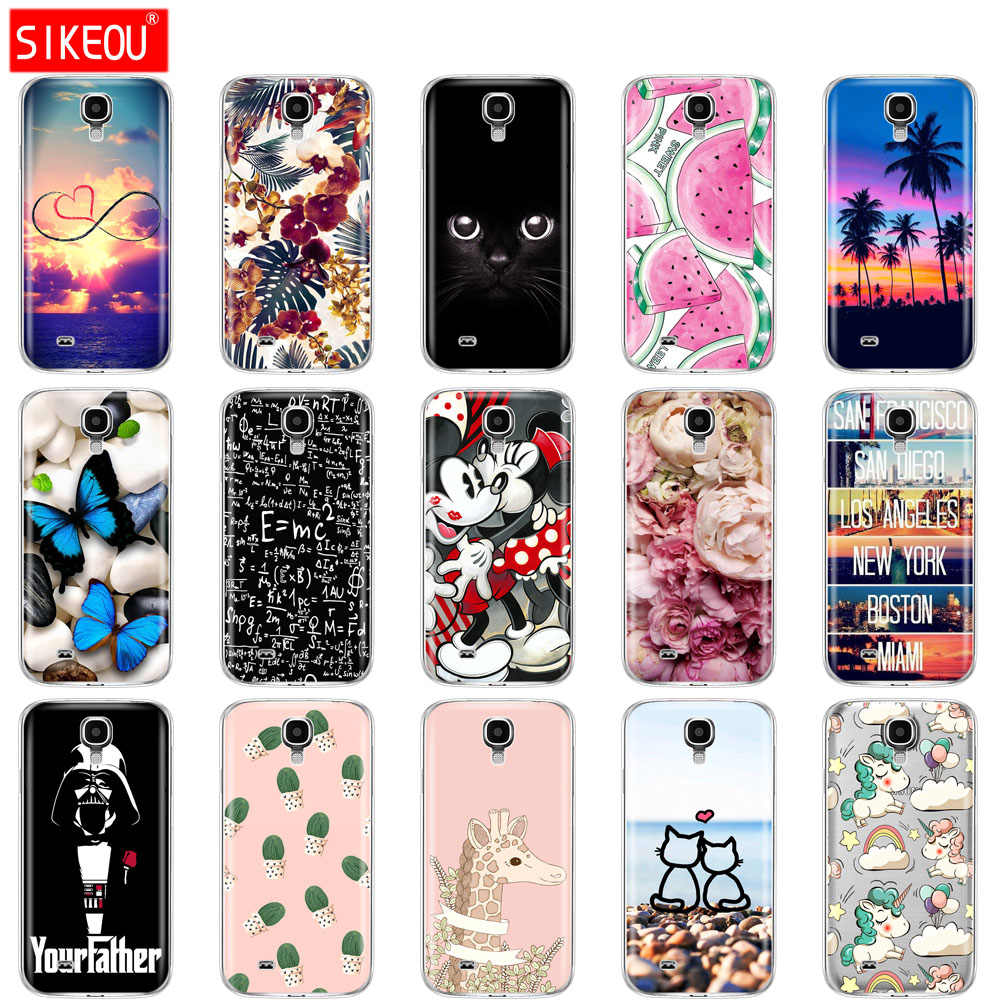Silicone Soft Case For Samsung Galaxy S4 i9500 Case TPU Cover For Samsung S4 Phone shell  da Hoesje Protective For S 4 butterfly