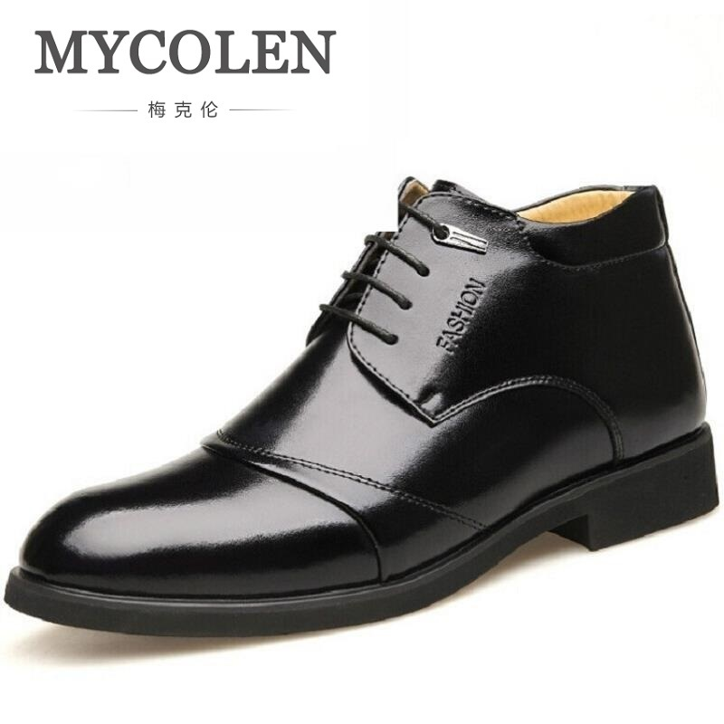 Mycolen Genuíno Noiva Apartamentos Sapatos Vestido Chaussures brown Quentes Mans Homens Preto Casuais De Moda Confortáveis Couro Negócios Homme rqgP0wrO