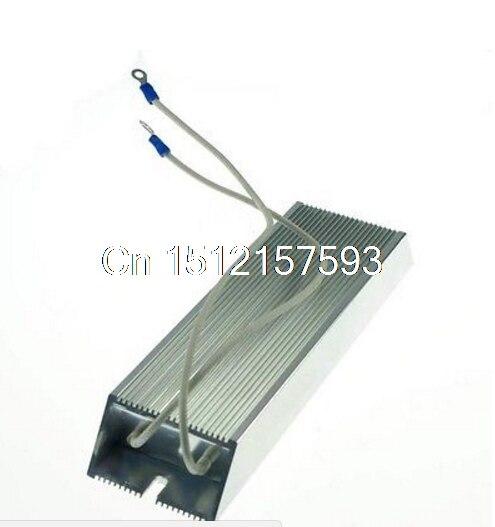 Power 300W 50 ohm Wire Wound Aluminum Housed Inverter Braking Resistor