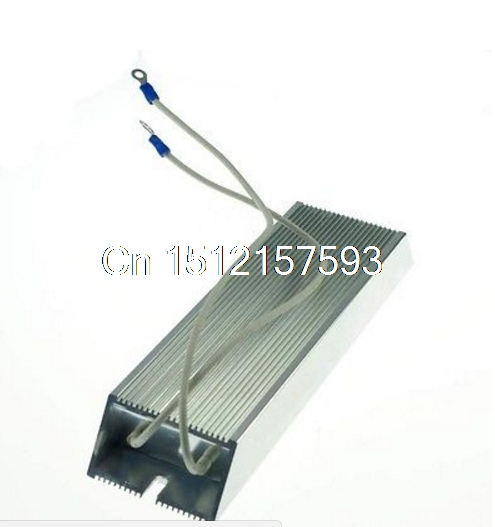 Power 300W 50 ohm Wire Wound Aluminum Housed Inverter Braking Resistor variable resistor wire wound rheostat 50w 20 ohm 20ohm