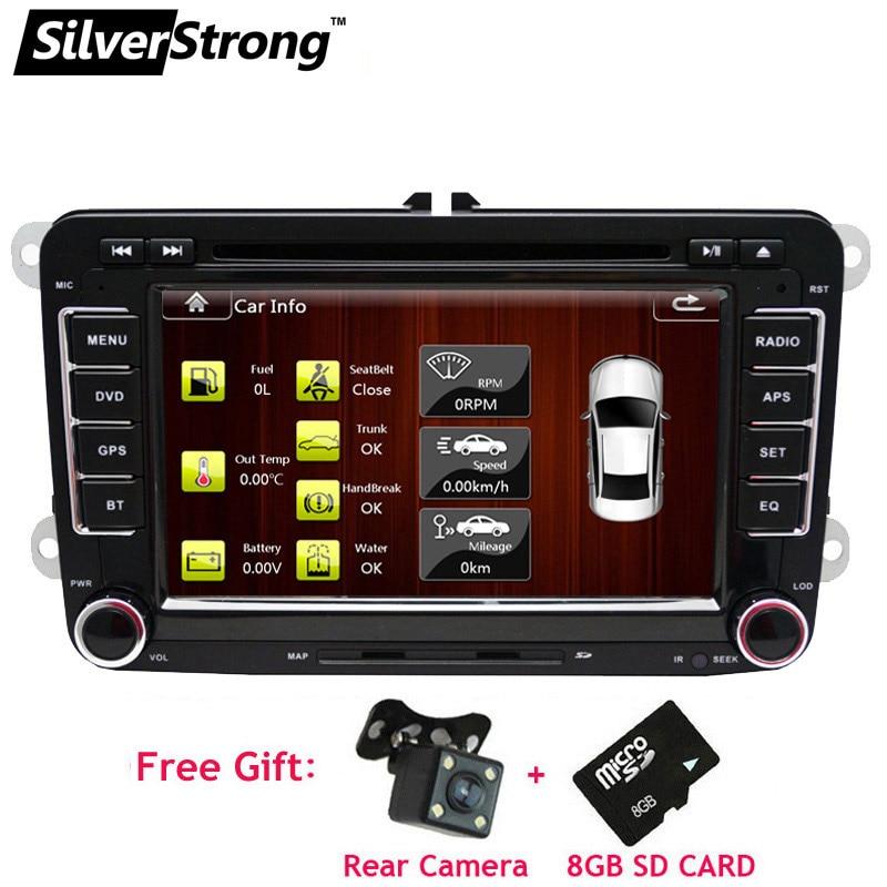 SilverStrong 2DIN Universal Car DVD for Volkswagen Passat B6 B7 Polo Jetta Car DVD Golf5 6