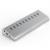 10 Portas Hub USB de alta Velocidade 3.0 QC 2.0 cubos de alumínio rede para usb flash/cle usb/usb stick/flash disk/hdd H7013U3
