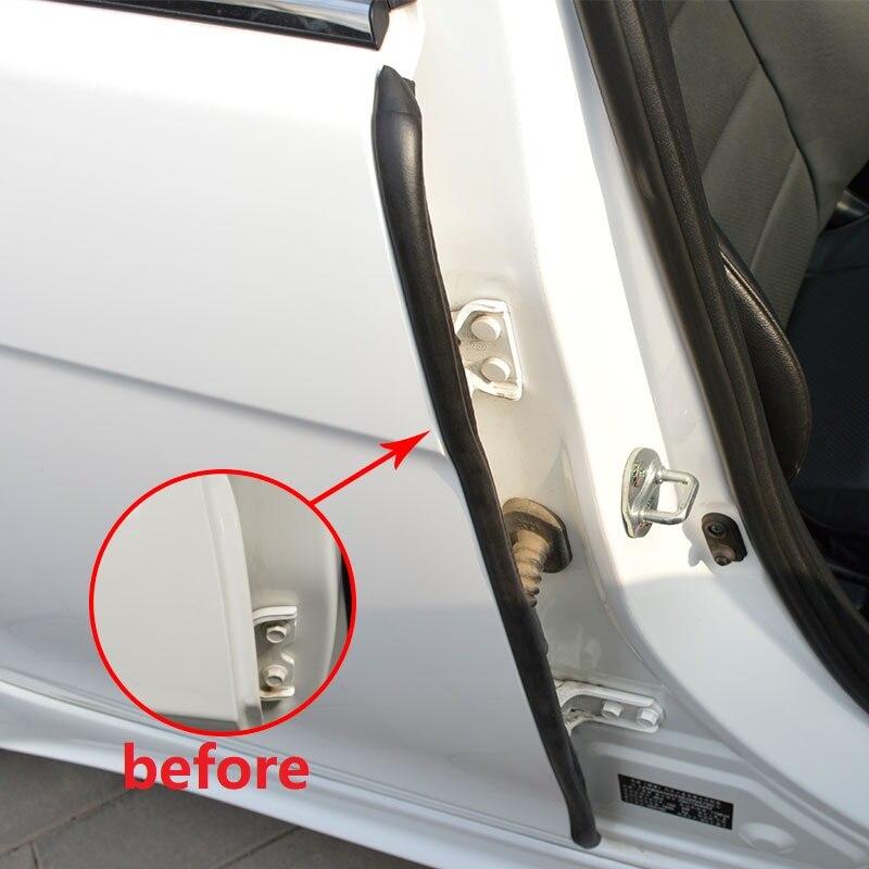 Gummitürdichtung schalldämmung autotürdichtung 3 mt auto dichtungen 2 stücke 85 cm auto türdichtungs auto stype