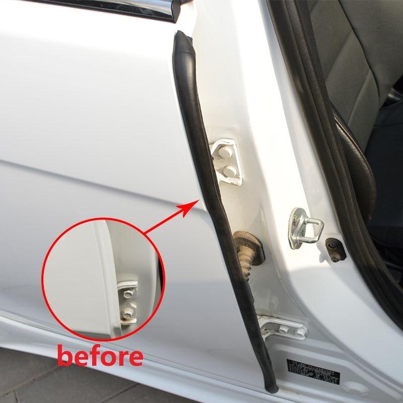 PARCOUR Car Door Seal Sound Insulation Dustproof Insulation Seals Rubber Sealants 2*85cm B Pillar for the car