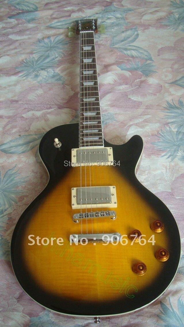 Brand new VS slash guitare électrique livraison gratuite vintage sunburst standard maogany corps en bois